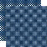 Echo Park - Dots and Stripes Collection - Travel - 12 x 12 Double Sided Paper - Iceland