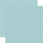 Echo Park - Dots and Stripes Collection - Travel - 12 x 12 Double Sided Paper - Tahiti