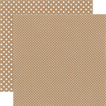 Echo Park - Dots and Stripes Collection - Travel - 12 x 12 Double Sided Paper - Egypt