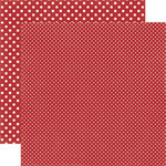 Echo Park - Dots and Stripes Collection - Travel - 12 x 12 Double Sided Paper - Switzerland