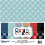 Echo Park - Dots and Stripes Collection - Travel - 12 x 12 Collection Kit