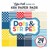 Echo Park - Dots and Stripes Collection - Summer - 6 x 6 Paper Pad