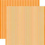 Echo Park - Dots and Stripes Collection - Fall - 12 x 12 Double Sided Paper - Butterscotch Stripe
