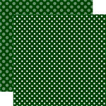 Echo Park - Dots and Stripes Collection - Christmas - 12 x 12 Double Sided Paper - Christmas Tree Dot