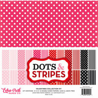 Echo Park - Dots and Stripes Collection - Valentines - 12 x 12 Collection Kit