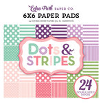 Echo Park - Dots and Stripes Collection - Little Girl - 6 x 6 Paper Pad