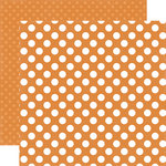 Echo Park - Dots and Stripes Collection - Little Boy - 12 x 12 Double Sided Paper - Sunshine Dot