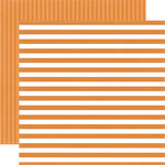 Echo Park - Dots and Stripes Collection - Little Boy - 12 x 12 Double Sided Paper - Sunshine Stripe