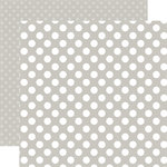 Echo Park - Dots and Stripes Collection - Little Boy - 12 x 12 Double Sided Paper - Sidewalk Dot