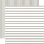 Echo Park - Dots and Stripes Collection - Little Boy - 12 x 12 Double Sided Paper - Sidewalk Stripe
