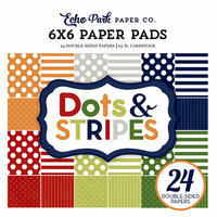 Echo Park - Dots and Stripes Collection - Little Boy - 6 x 6 Paper Pad