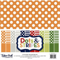 Echo Park - Dots and Stripes Collection - Little Boy - 12 x 12 Collection Kit