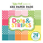 Echo Park - Dots and Stripes Collection - Spring - 6 x 6 Paper Pad