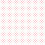 Echo Park - Dots and Stripes Collection - Easter Vellum Dot - 12 x 12 Vellum - Blush Bunny
