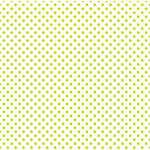 Echo Park - Dots and Stripes Collection - Easter Vellum Dot - 12 x 12 Vellum - Green Grass