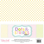 Echo Park - Dots and Stripes Collection - Easter Vellum Dot - 12 x 12 Collection Kit