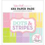Echo Park - Dots and Stripes Collection - Spring - 6 x 6 Paper Pad - Two