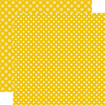 Echo Park - Dots and Stripes Collection - Summer - 12 x 12 Double Sided Paper - Starfish Dot