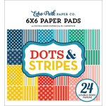 Echo Park - Dots and Stripes Collection - Summer - 6 x 6 Paper Pad - Two