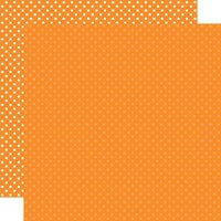 Echo Park - Dots and Stripes Collection - 12 x 12 Double Sided Paper - Orange