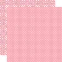 Echo Park - Dots and Stripes Collection - 12 x 12 Double Sided Paper - Pink