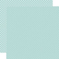 Echo Park - Dots and Stripes Collection - 12 x 12 Double Sided Paper - Mint