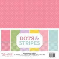 Echo Park - Dots and Stripes Collection - 12 x 12 Spring Paper Pack