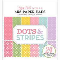 Echo Park - Dots and Stripes Collection - 6 x 6 Paper Pad - Spring