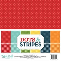 Echo Park - Dots and Stripes Collection - 12 x 12 Summer Paper Pack