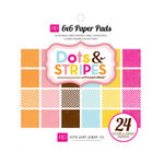 Echo Park - Candy Shoppe Dots and Stripes Collection - 6 x 6 Paper Pad