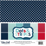 Echo Park - Dots and Stripes Collection - Winter -12 x 12 Collection Kit
