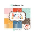 Echo Park - Homefront Dots and Stripes Collection Homefront - 6 x 6 Paper Pad