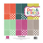 Echo Park - Jewels Dots and Stripes Collection - 12 x 12 Collection Kit