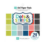 Echo Park - Metropolitan Dots and Stripes Collection - 6 x 6 Paper Pad