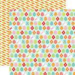 Echo Park - Easter Collection - 12 x 12 Double Sided Paper - Egg Hunt
