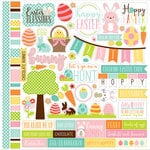 Echo Park - Easter Collection - 12 x 12 Cardstock Stickers - Elements
