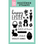 Echo Park - Easter Collection - Clear Acrylic Stamps - Happy Easter