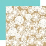 Echo Park - Everyday Eclectic Collection - 12 x 12 Double Sided Paper - Kraft Doily