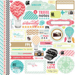 Echo Park - Everyday Eclectic Collection - 12 x 12 Cardstock Stickers - Elements