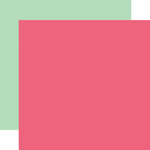 Echo Park - Everyday Eclectic Collection - 12 x 12 Double Sided Paper - Pink