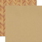 Echo Park - Everyday Eclectic Collection - 12 x 12 Double Sided Paper - Kraft