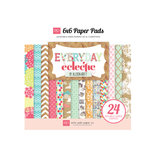 Echo Park - Everyday Eclectic Collection - 6 x 6 Paper Pad