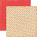 Echo Park - Everybody Loves Christmas Collection - 12 x 12 Double Sided Paper - Wrapping Paper, CLEARANCE