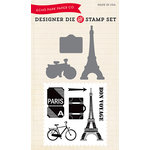 Echo Park - Designer Die and Clear Acrylic Stamp Set - Getaway