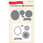Echo Park - Simple Life Collection - Designer Die and Stamp Set - Simple Hello