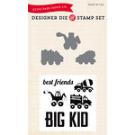 Echo Park - Designer Die and Clear Acrylic Stamp Set - Big Kid
