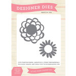 Echo Park - Simple Life Collection - Designer Dies - Simple Flowers Die