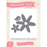 Echo Park - Fine and Dandy Collection - Designer Dies - Flower Set 1