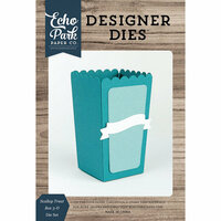 Echo Park - Designer Dies - Scallop Treat Box