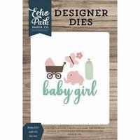 Echo Park - Designer Dies - Baby Girl Add-On